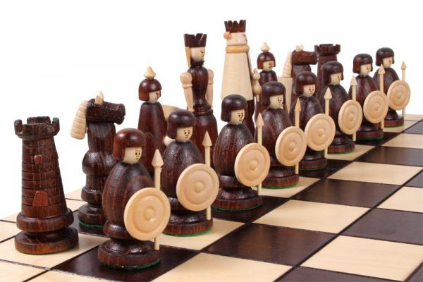 magnat chess set wooden folding