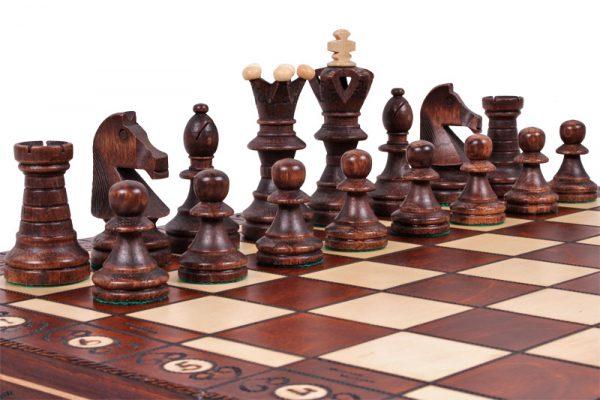 Chess Set Ambassador wooden