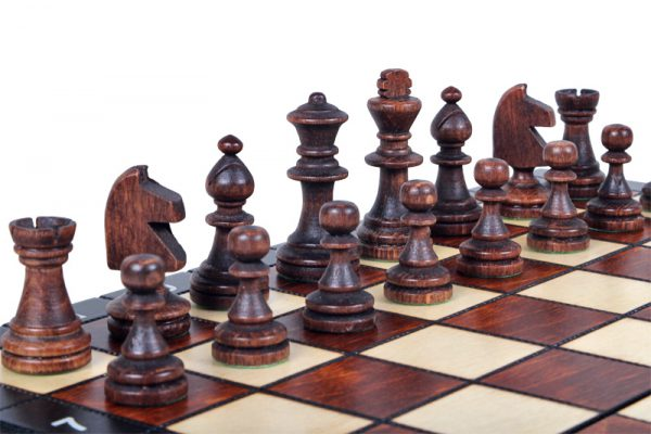 magnetic handmade chess set