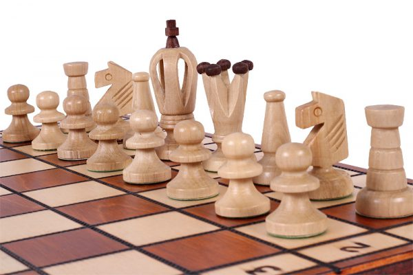 handmade chess set royal