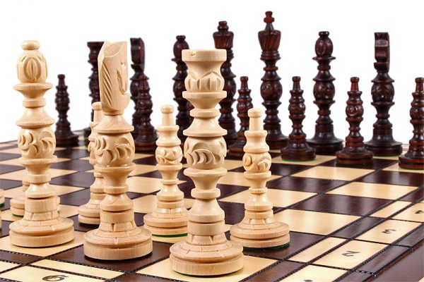 handmade 23 inch galant chess set
