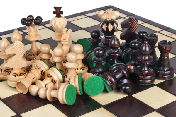 handamde chess set 14 inch paris
