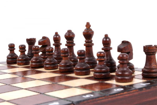 11 inch folding chess set