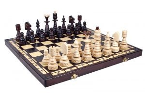 christmas chess set