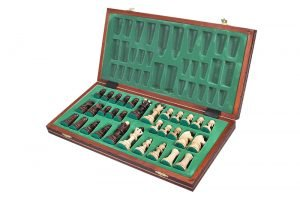 chess set wooden junior