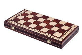 royal wooden chess set