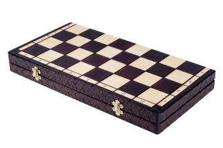 wooden king chess sest