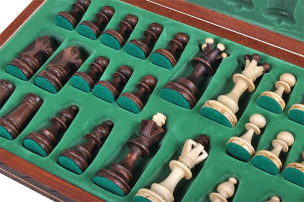 folding junior chess set