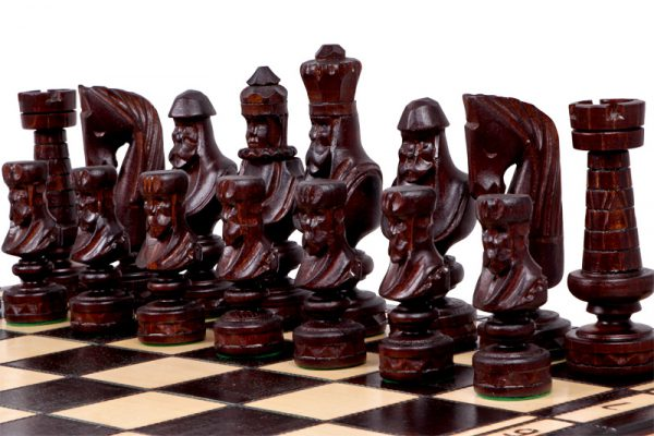roman chess set 23 inch