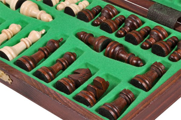 school chess set wooden