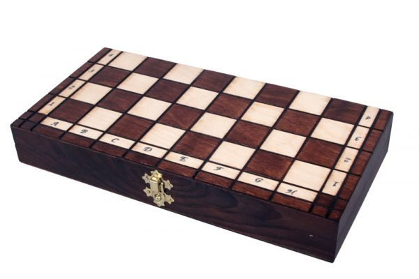 folding classic chess set wooden