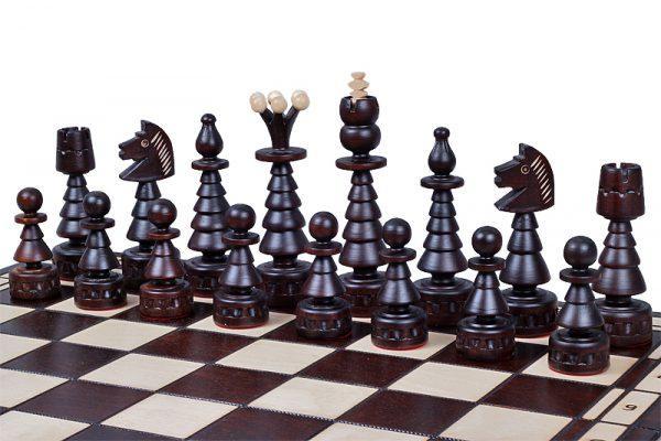festive chess set handmade