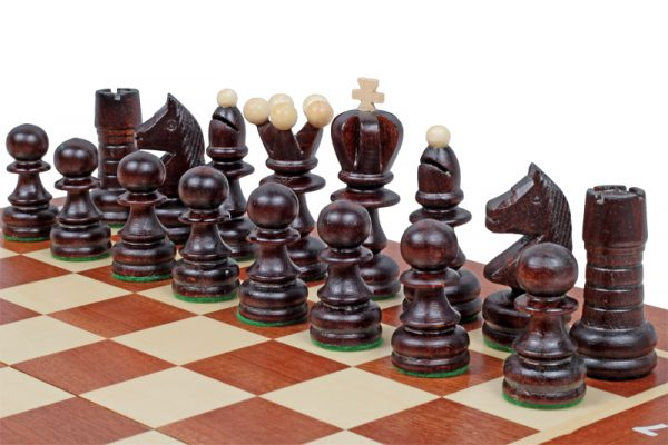 pearl inlaid chess set