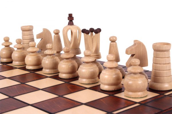 13 inch chess set handmade