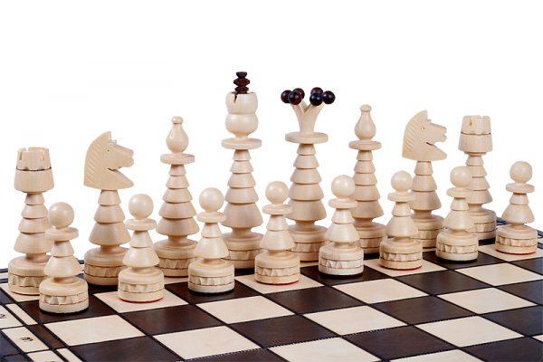 folding chess set festive