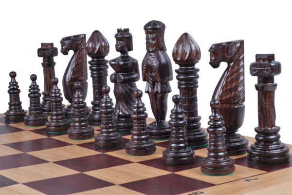 medieval chess set 25 inch