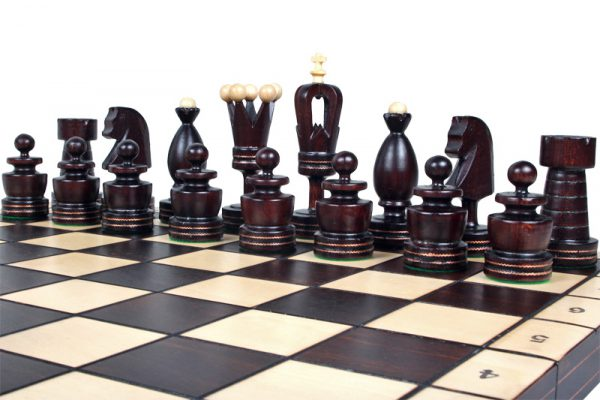 handmade chess set gothic