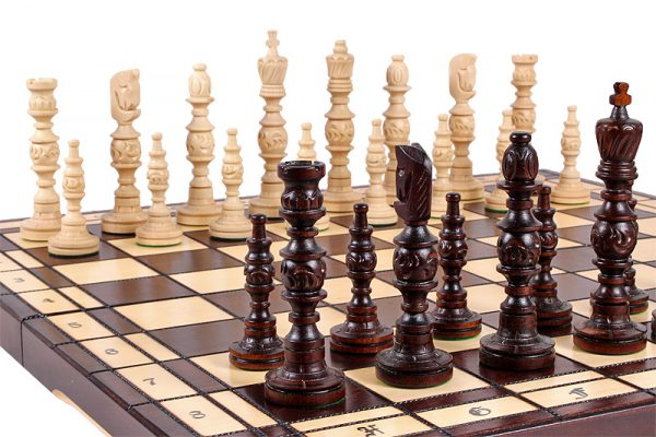 galant chess set handamde
