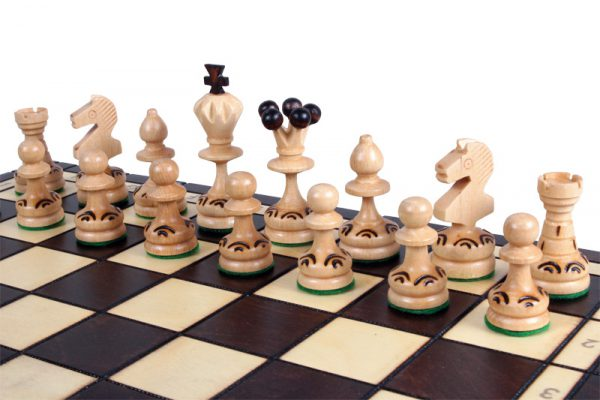 paris chess set wooden