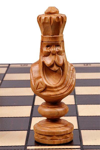 23 inch chess set roman wooden