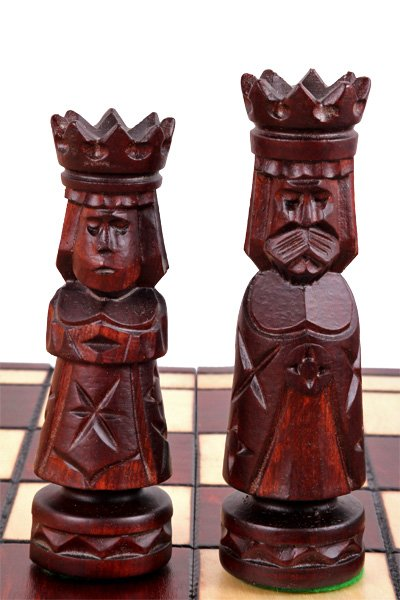 ancient chess set antique