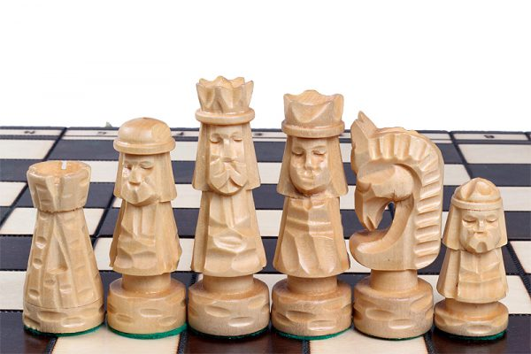 handmade giewont chess set 20 inch
