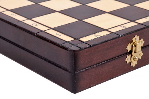 16 inch handmade wooden chess set