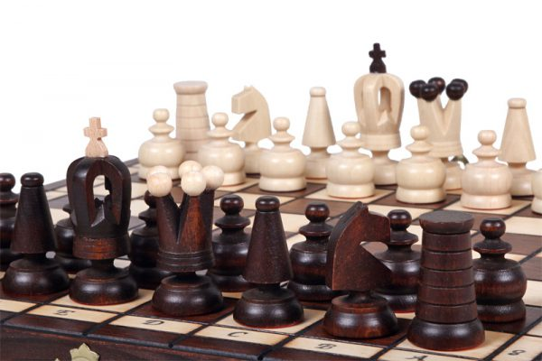 wooden handmade classic chess set