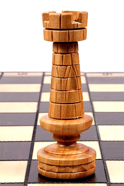 handmade wooden chess set roman