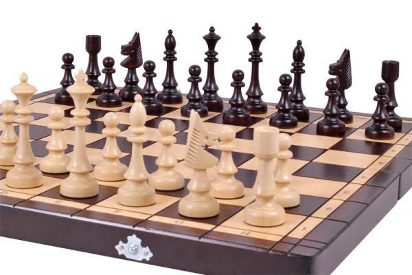 14 inch chess set club