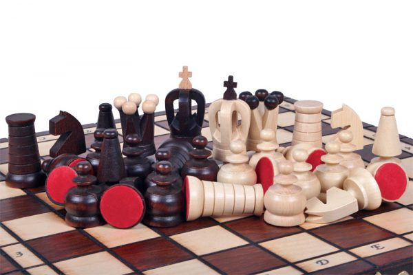 classic chess set wooden