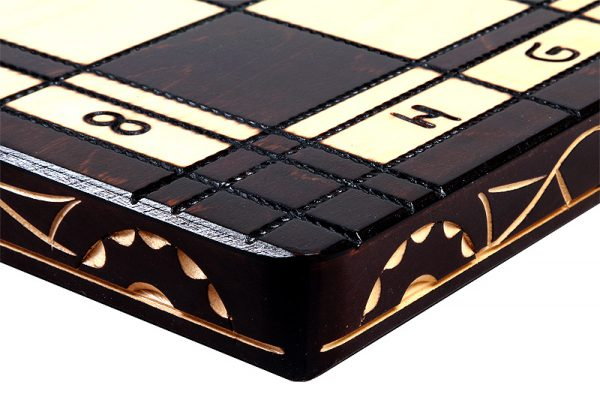 folding roman chess set wooden