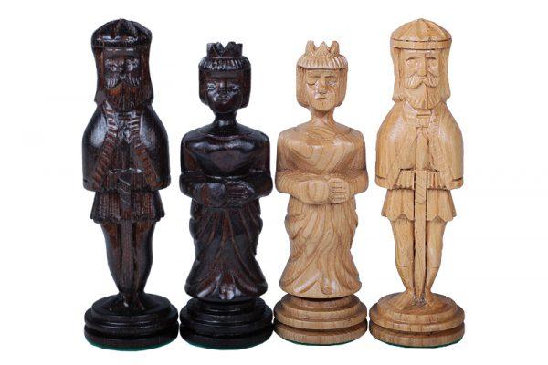 handmade medieval chess