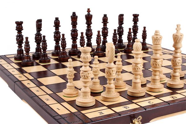 23 inch galant chess set