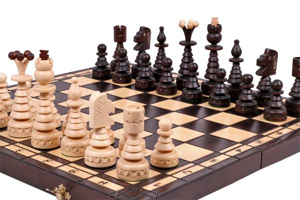 christmas chess set 23 inch
