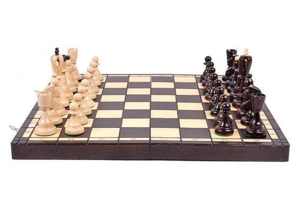 handmade chess set 16 inch