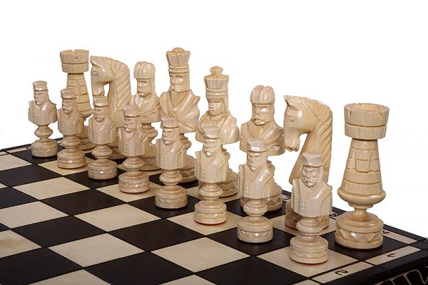 roman chess set cesar