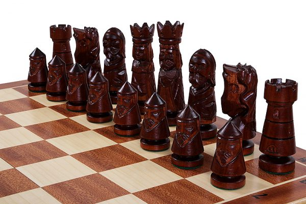 24 inch chess set castle