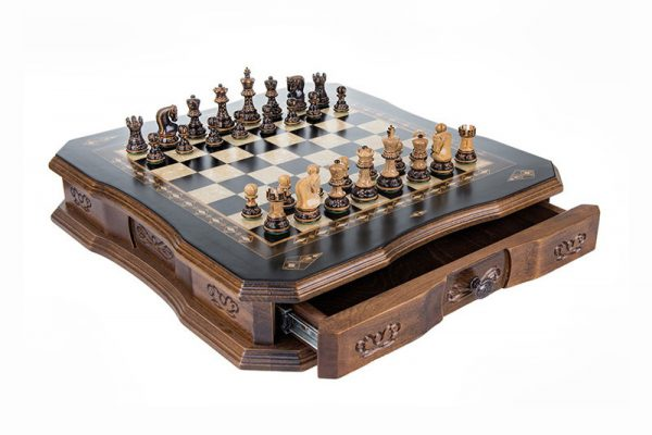 chess set antique