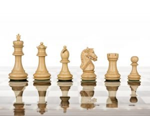 handmade chess pieces