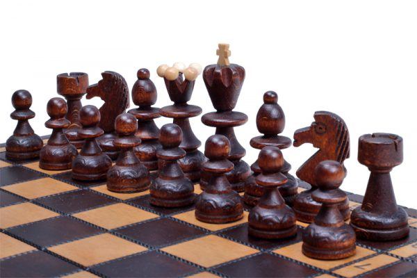 handmade chess set paris wooden