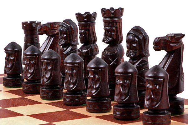 salzburg wooden chess set