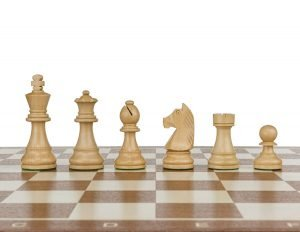 staunton standard wooden chess pieces