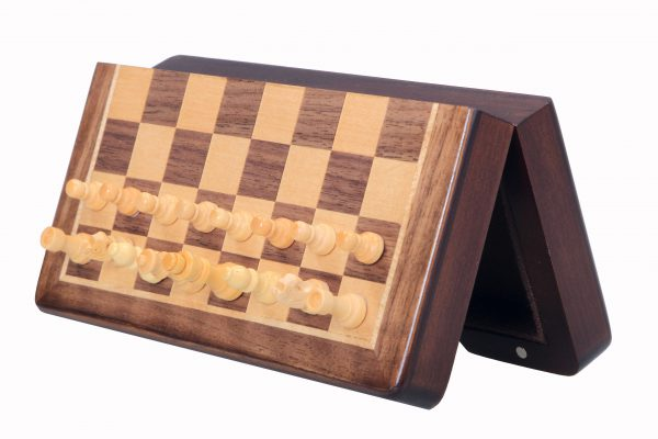 magnetic chess set pocket