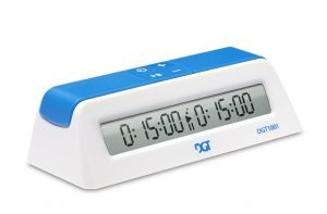 digital chess clock white