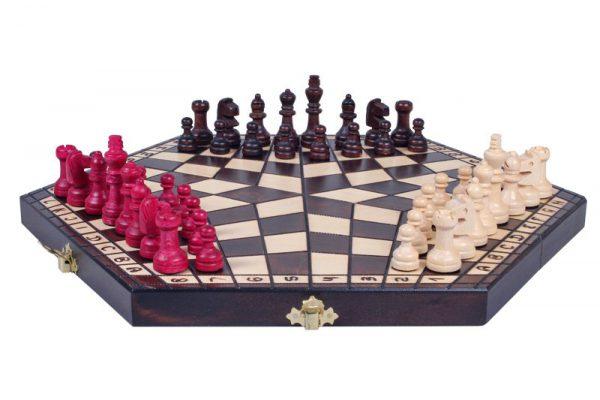 three player chess set
