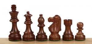 french knight chessmen