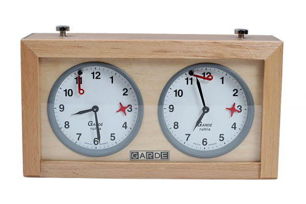 garde analogue chess clock