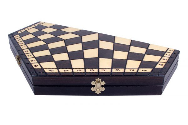11 inch three player chess set