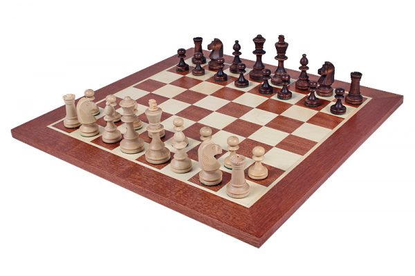 wooden solid chessboard